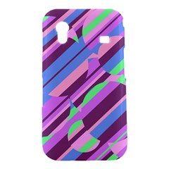 Pink, purple and green pattern Samsung Galaxy Ace S5830 Hardshell Case
