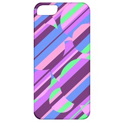 Pink, purple and green pattern Apple iPhone 5 Classic Hardshell Case