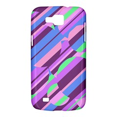 Pink, purple and green pattern Samsung Galaxy Premier I9260 Hardshell Case