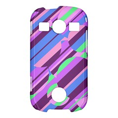 Pink, purple and green pattern Samsung Galaxy S7710 Xcover 2 Hardshell Case