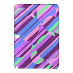 Pink, purple and green pattern Samsung Galaxy Tab Pro 10.1 Hardshell Case