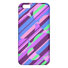 Pink, purple and green pattern iPhone 6 Plus/6S Plus TPU Case
