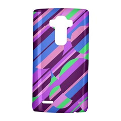 Pink, purple and green pattern LG G4 Hardshell Case