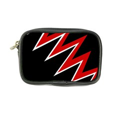Black and red simple design Coin Purse