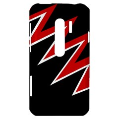 Black and red simple design HTC Evo 3D Hardshell Case