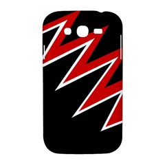 Black and red simple design Samsung Galaxy Grand DUOS I9082 Hardshell Case