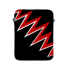 Black and red simple design Apple iPad 2/3/4 Protective Soft Cases