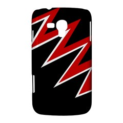 Black and red simple design Samsung Galaxy Duos I8262 Hardshell Case
