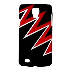 Black and red simple design Galaxy S4 Active