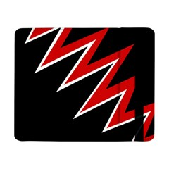 Black and red simple design Samsung Galaxy Tab Pro 8.4  Flip Case