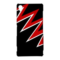 Black and red simple design Sony Xperia Z3