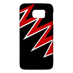 Black and red simple design Galaxy S6