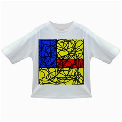 Yellow abstract pattern Infant/Toddler T-Shirts