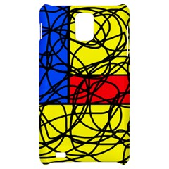 Yellow abstract pattern Samsung Infuse 4G Hardshell Case