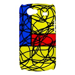 Yellow abstract pattern Samsung Galaxy Nexus S i9020 Hardshell Case