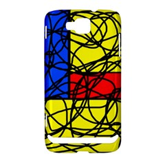 Yellow abstract pattern Samsung Ativ S i8750 Hardshell Case