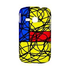 Yellow abstract pattern Samsung Galaxy S6310 Hardshell Case