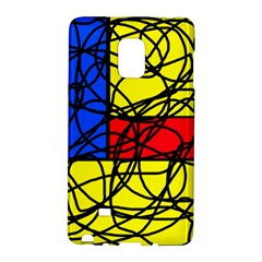 Yellow abstract pattern Galaxy Note Edge