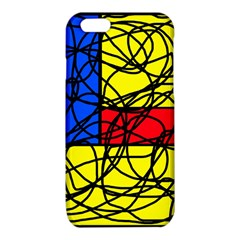 Yellow abstract pattern iPhone 6/6S TPU Case