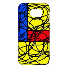Yellow abstract pattern Galaxy S6