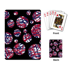 Colorful decorative pattern Playing Card