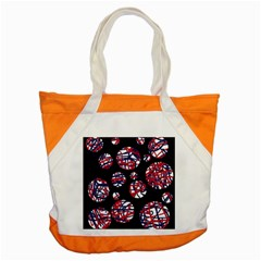 Colorful decorative pattern Accent Tote Bag