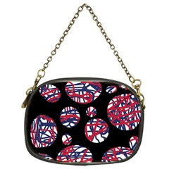 Colorful decorative pattern Chain Purses (Two Sides)