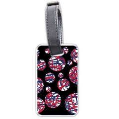 Colorful decorative pattern Luggage Tags (Two Sides)
