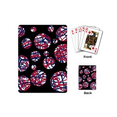 Colorful decorative pattern Playing Cards (Mini)