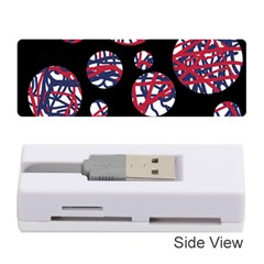 Colorful Decorative Pattern Memory Card Reader (stick)