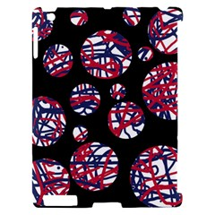 Colorful decorative pattern Apple iPad 2 Hardshell Case (Compatible with Smart Cover)