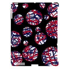 Colorful decorative pattern Apple iPad 3/4 Hardshell Case (Compatible with Smart Cover)