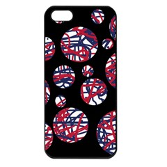 Colorful decorative pattern Apple iPhone 5 Seamless Case (Black)