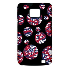 Colorful decorative pattern Samsung Galaxy S II i9100 Hardshell Case (PC+Silicone)