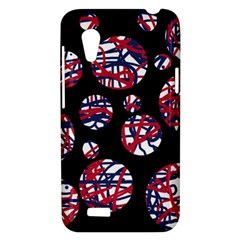 Colorful decorative pattern HTC Desire VT (T328T) Hardshell Case