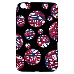 Colorful decorative pattern Samsung Galaxy Tab 3 (8 ) T3100 Hardshell Case