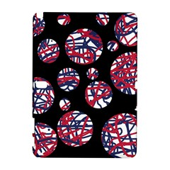 Colorful decorative pattern Samsung Galaxy Note 10.1 (P600) Hardshell Case