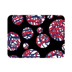 Colorful decorative pattern Double Sided Flano Blanket (Mini)