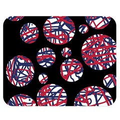Colorful decorative pattern Double Sided Flano Blanket (Medium)