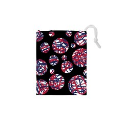 Colorful decorative pattern Drawstring Pouches (XS)