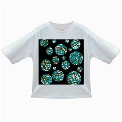 Decorative blue abstract design Infant/Toddler T-Shirts