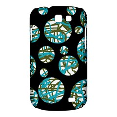 Decorative blue abstract design Samsung Galaxy Express I8730 Hardshell Case