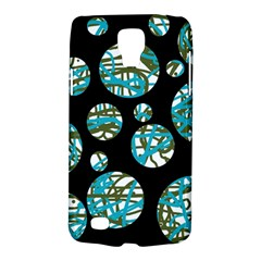 Decorative blue abstract design Galaxy S4 Active