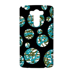 Decorative blue abstract design LG G3 Hardshell Case