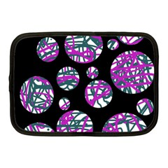 Purple decorative design Netbook Case (Medium)