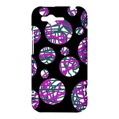 Purple decorative design HTC Rhyme