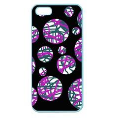 Purple decorative design Apple Seamless iPhone 5 Case (Color)