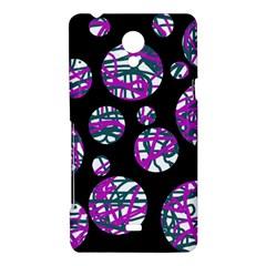 Purple decorative design Sony Xperia T