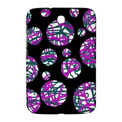 Purple decorative design Samsung Galaxy Note 8.0 N5100 Hardshell Case
