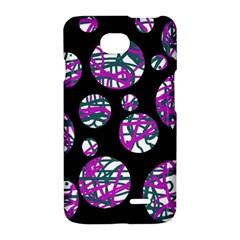 Purple decorative design LG Optimus L70